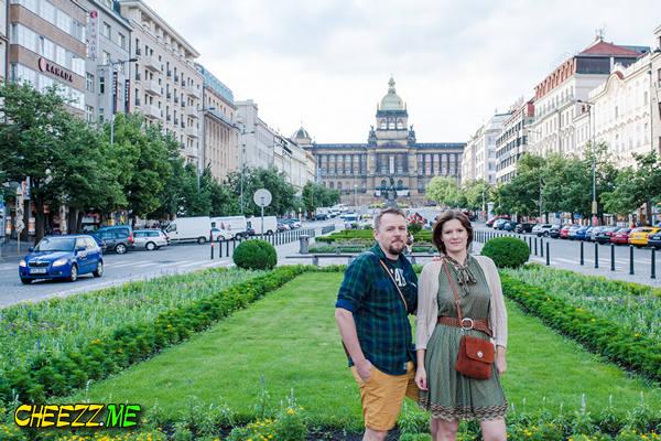 Прогулка по Праге - Вацлавская площадь