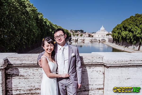 Ватикан - фотосессия в Риме - свадебный фотограф в Италии