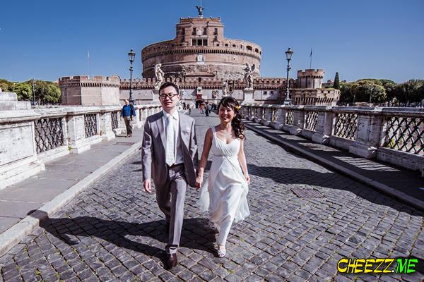Замок святого Ангела - фотосессия в Риме