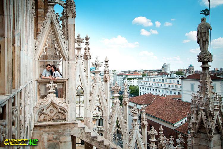 Фотограф в Милане - фотосессия собор Дуомо