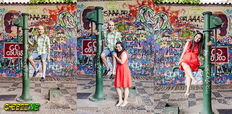 Индивидуальная экскурсия в Праге - стена Джона Леннона