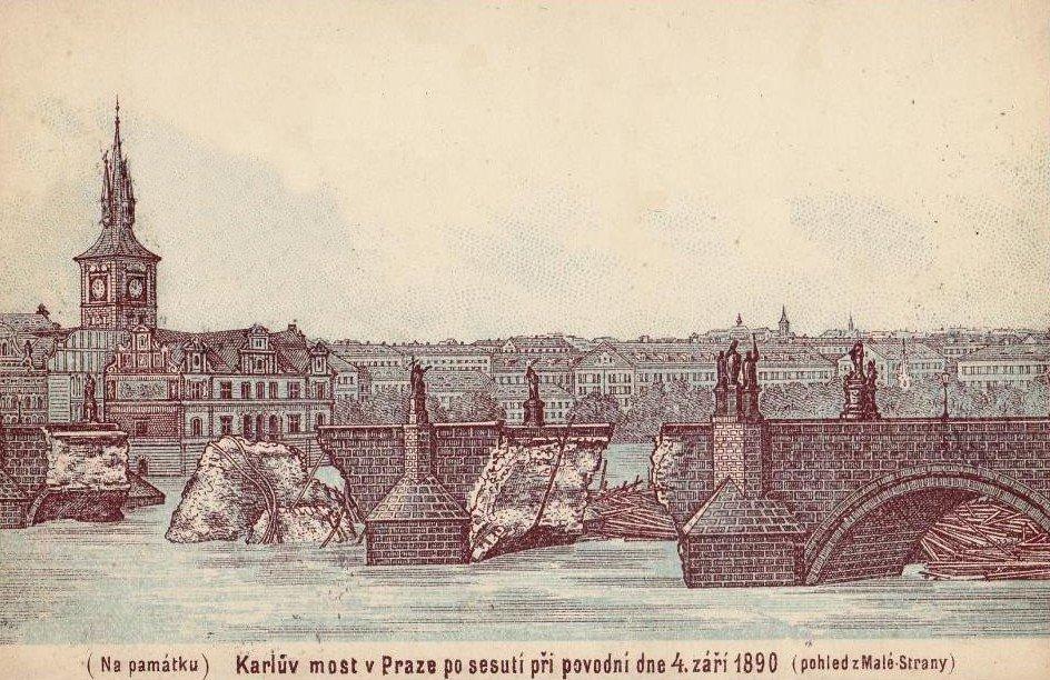 Наводнение в Чехии и потоп в Праге