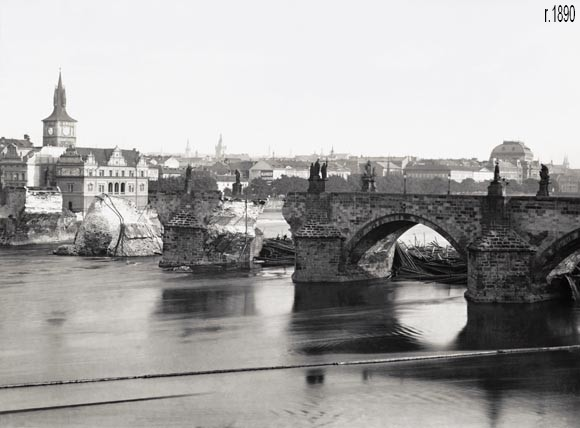 Потоп в Праге фото