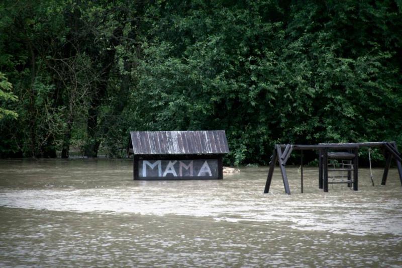 Фотографии потопа в Праге 2013
