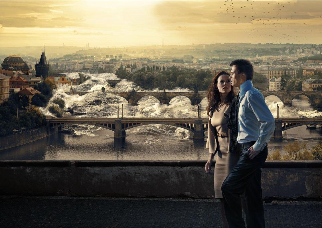 Прага затоплена наводнение в Чехии последние новости