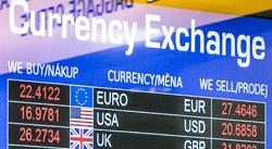 Аэропорт в Праге - курсы обмена валюты