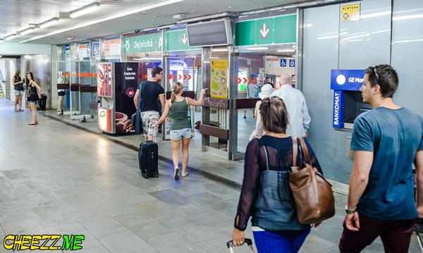 Самостоятельно из аэропорта в центр Праги