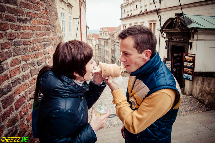 Трдельник попробовать в Праге