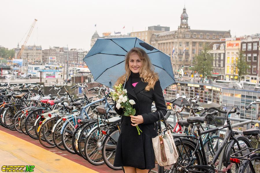 Фотограф в Амстердаме
