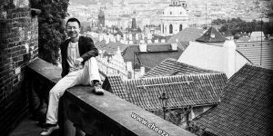 Ретро фотосессия в Праге на пленку