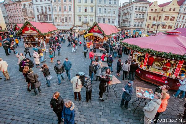 Old Christmas Fair in Prague
