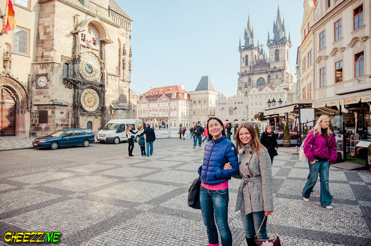 Old Town Square tour in Prague