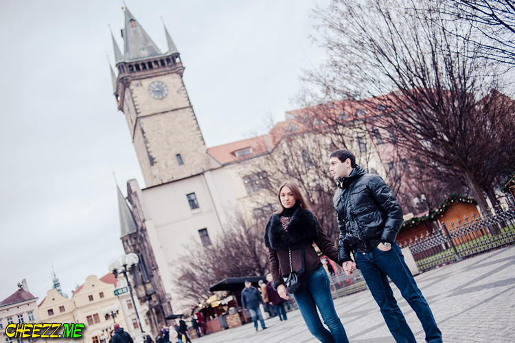 Old Town Square tour with personal guide photographer in Prague