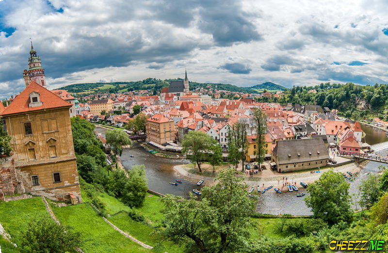 Tour from Prague to Cesky Krumlov
