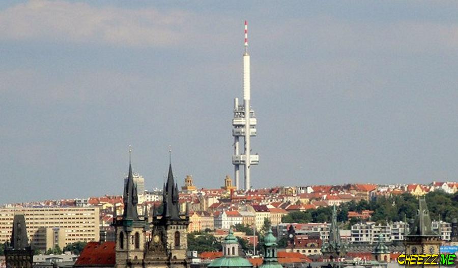 Zizkov Tower in Prague