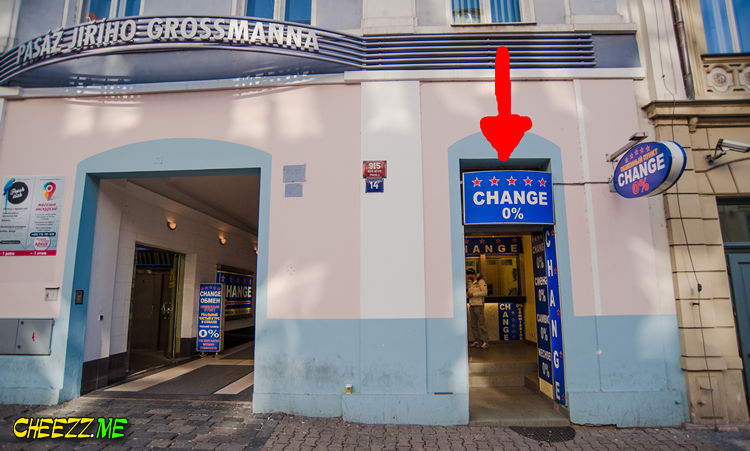 Where to change money in Prague