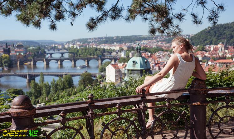 Letna Park in Prague