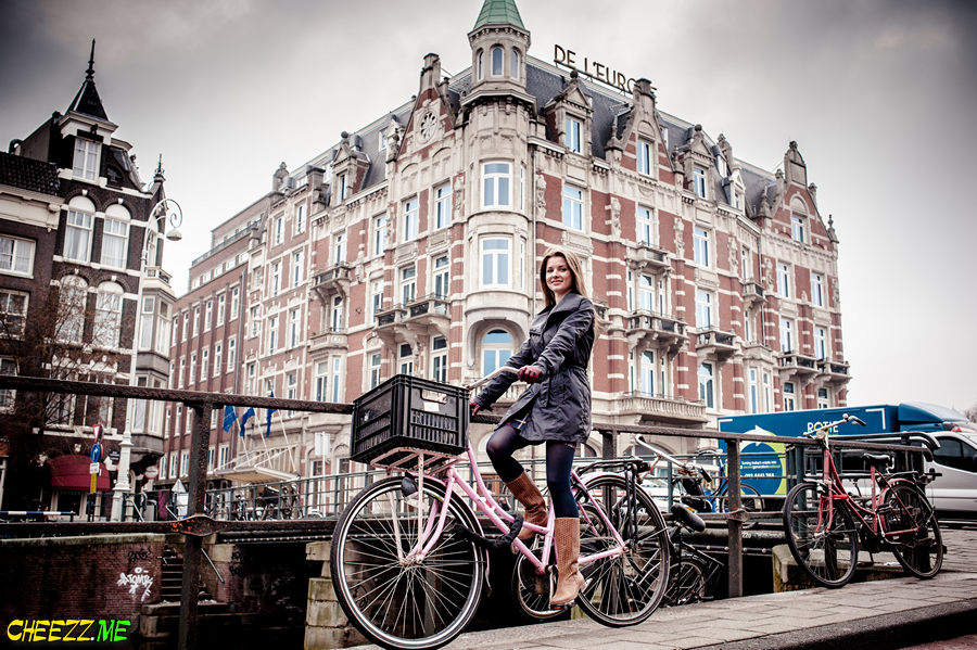 Photo session in Amsterdam