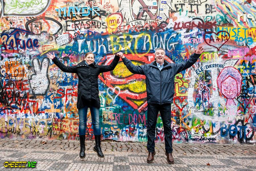 Lennon Wall in Prague photo