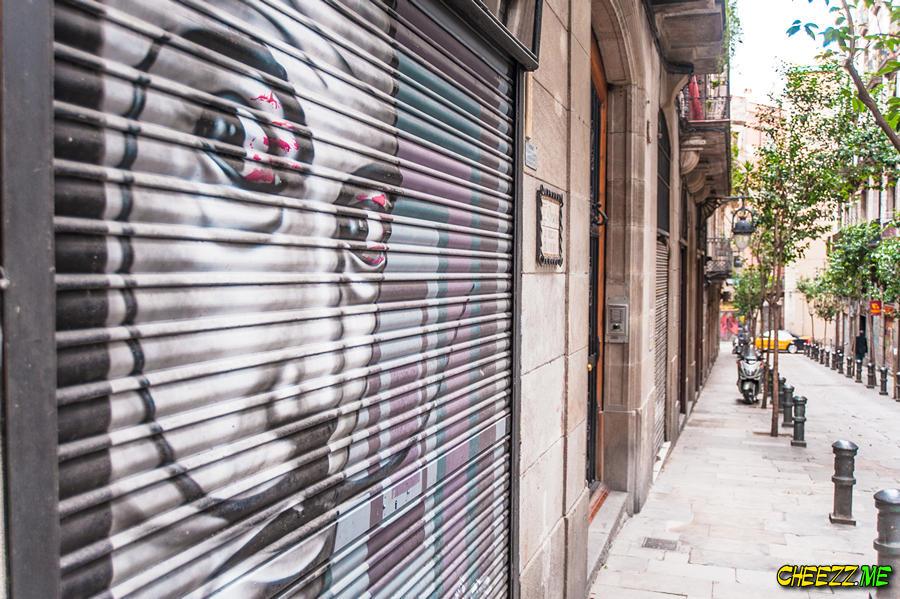 Salvador Dali museum in Barcelona Spain