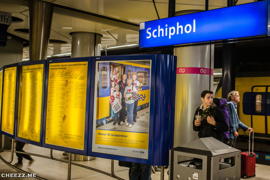 How To Get From Amsterdam To Schiphol Airport And Back